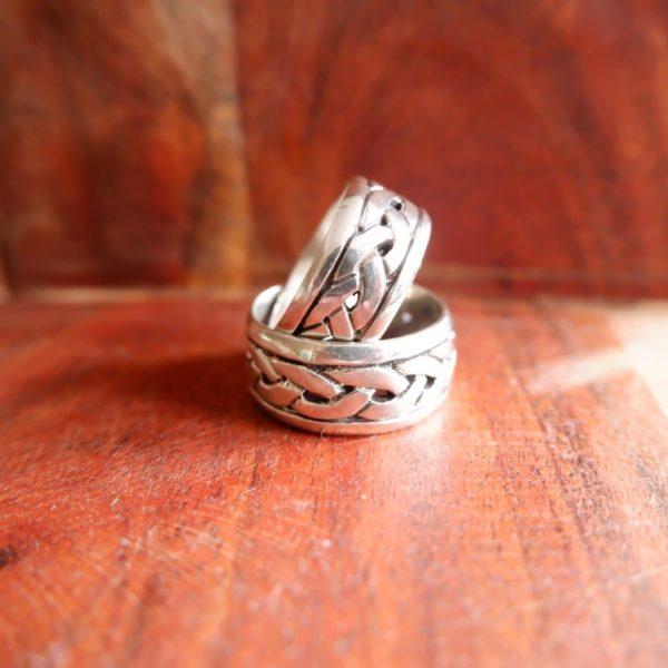 Zilveren ringen - Revelery