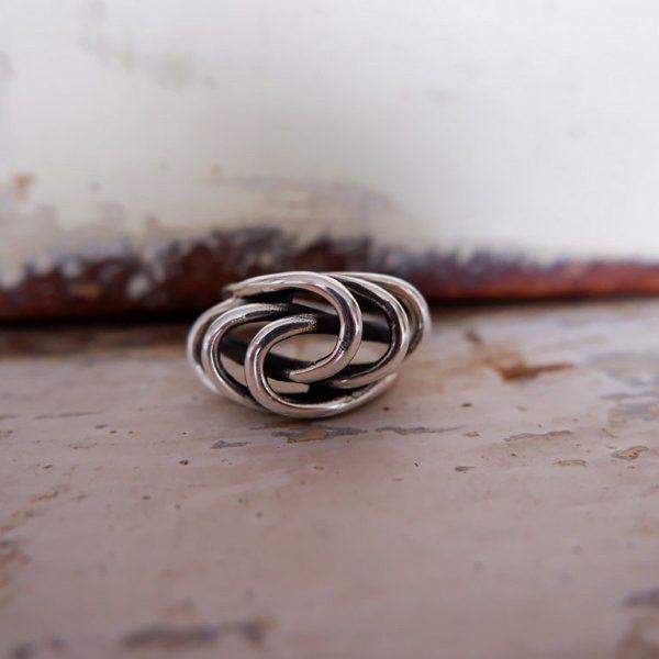 Zilveren ring - Revelery